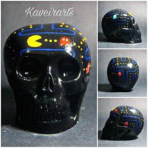 Caveira Pac Man (Pequena)