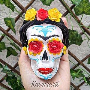 Caveira Frida Kahlo (Pequena)