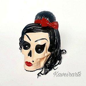 Caveira Amy Winehouse P