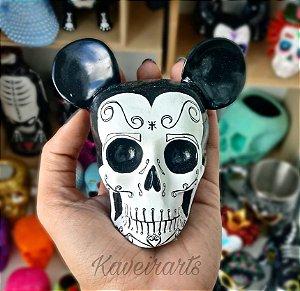 Caveira Mickey Mexicano (Pequena)