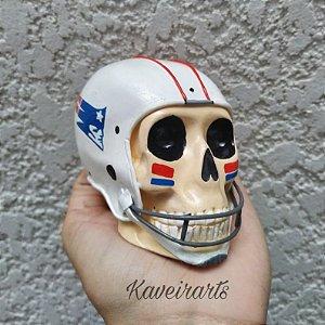 Caveira Capacete Futebol Americano (Pequena)