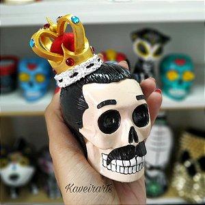 Caveira Freddie Mercury (Pequena)