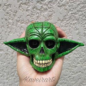 Caveira Mestre Yoda Pequena