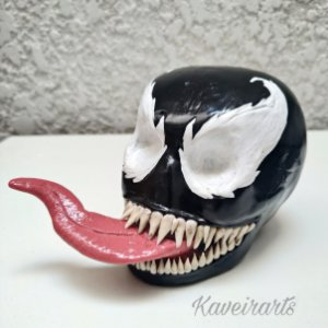 Caveira Venom (Pequena)