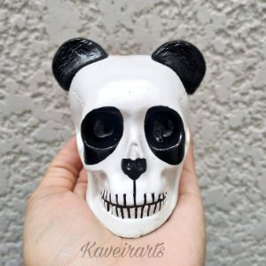 Caveira Panda Pequena (Pequena)