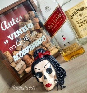 Caveira Amy Winehouse (Pequena)