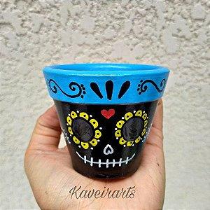 Vaso Mexicano para plantar (Cerâmica)