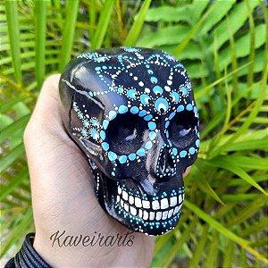 Caveira Mexicana Mandala (Pequena)
