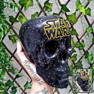 Caveira Star Wars (Grande) (Fechada ou Porta Treco)