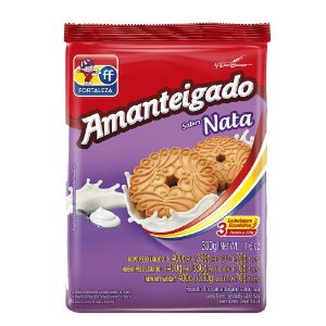 BISCOITO FORTALEZA 330G AMANTEIGADO NATA