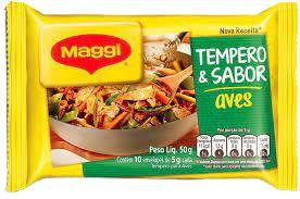 TEMPERO MAGGI 50G AVES/PEIXES/ARROZ