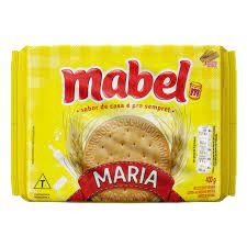 BISCOITO MABEL 400G MARIA