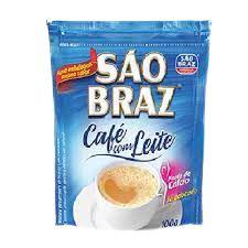 CAFE SAO BRAZ 100G CAFE COM LEITE ALMOFADA