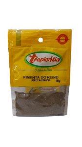 PIMENTA DO REINO PRETA EM PO 15G TROPICALIA