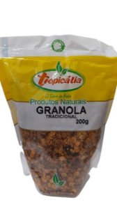 GRANOLA TRADICIONAL 200G TROPICALIA