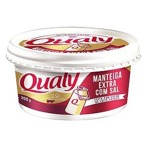 MANTEIGA QUALY 200G C/SAL
