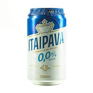 CERVEJA ITAIPAVA 350ML 0,0%ALCOOL LT