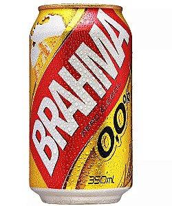 CERVEJA BRAHMA 350ML 0,0%ALCOOL LT