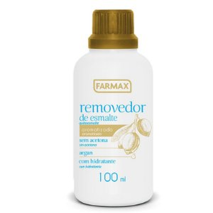 REMOVEDOR FARMAX 100ML ARGAN