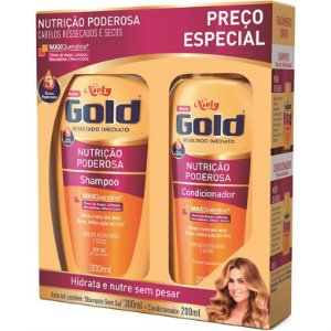 KIT SH+COND NIELY GOLD 300ML/200ML NUTRICAO