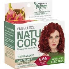 Tinta Natucor 6.66 Vermelho Cereja