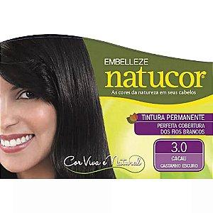 Tinta Natucor 3.0 Castanho Escuro Cacau