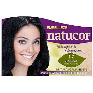 Tinta Natucor 1.7 Preto Azulado