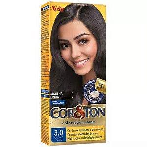 Tinta Cor & Ton 125G 3.0 Castanho Escuro