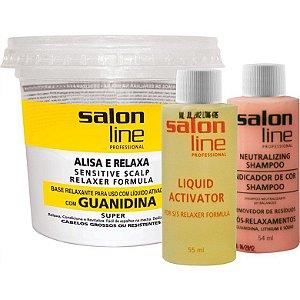 Guanidina Salon Line 215Gr Cabelos Grosso e Resistentes