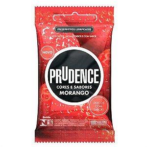 Preservativo Prudence Plus Morango