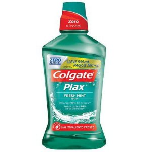 ANTI-SEPTICO BUCAL COLGATE PLAX 500ML FRESH MINT ZERO ALCOOL
