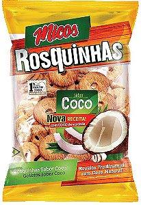 BISCOITO MICOS 300G ROSQUINHAS COCO ZERO LACTOSE