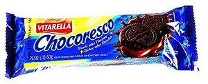 BISCOITO VITARELLA 60G RECHEADO CHOCORESCO CHOCOLATE