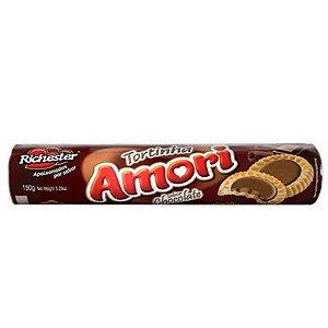 BISCOITO RICHESTER AMORI 150G AMORI TORTINHAS CHOCOLATE