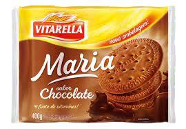 BISCOITO VITARELLA 400G MARIA CHOCOLATE