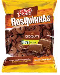 BISCOITO MICOS 300G ROSQUINHAS ZERO LACTOSE CHOCOLATE
