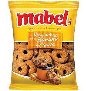 BISC MABEL 400G ROSQUINHA BANANA COM CANELA