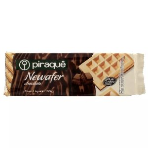 BISCOITO PIRAQUE 100G WAFER CHOCOLATE