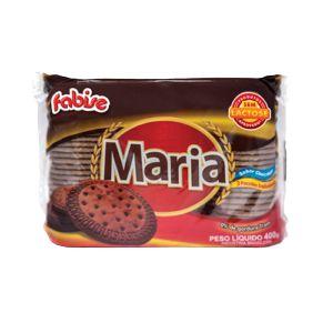 BISC FABISE 400G MARIA CHOCOLATE SEM LACTOSE