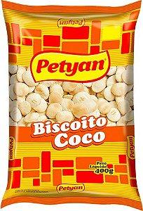 BISCOITO PETYAN 400G COCO
