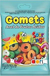 Jujubas Gomets 100G Anel Acido