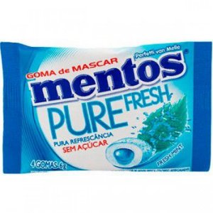 Chiclete Mentos 6G Fresh Mint