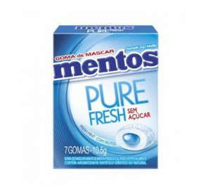 Chiclete Mentos 10,5G Fresh Mint