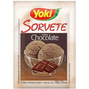 PO P/SORVETE YOKI 150G CHOCOLATE