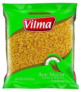 MASSA VILMA 500G AVE MARIA SEMOLA