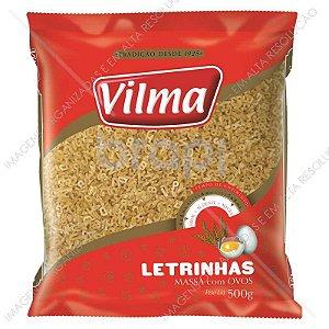 MASSA VILMA 500G LETRINHAS COM OVOS