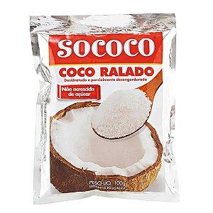 COCO RALADO 100G SOCOCO