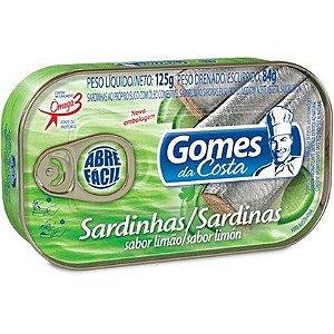 SARDINHAS GOMES COSTA 125G LIMAO