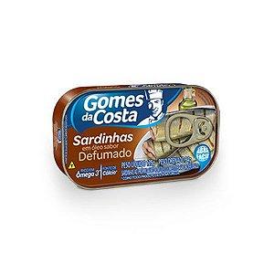 SARDINHAS GOMES COSTA 125G DEFUMADO