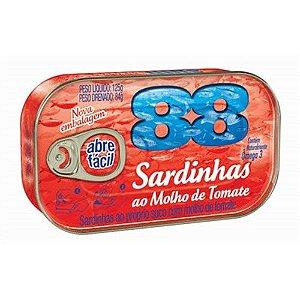SARDINHAS 88 125G TOMATE